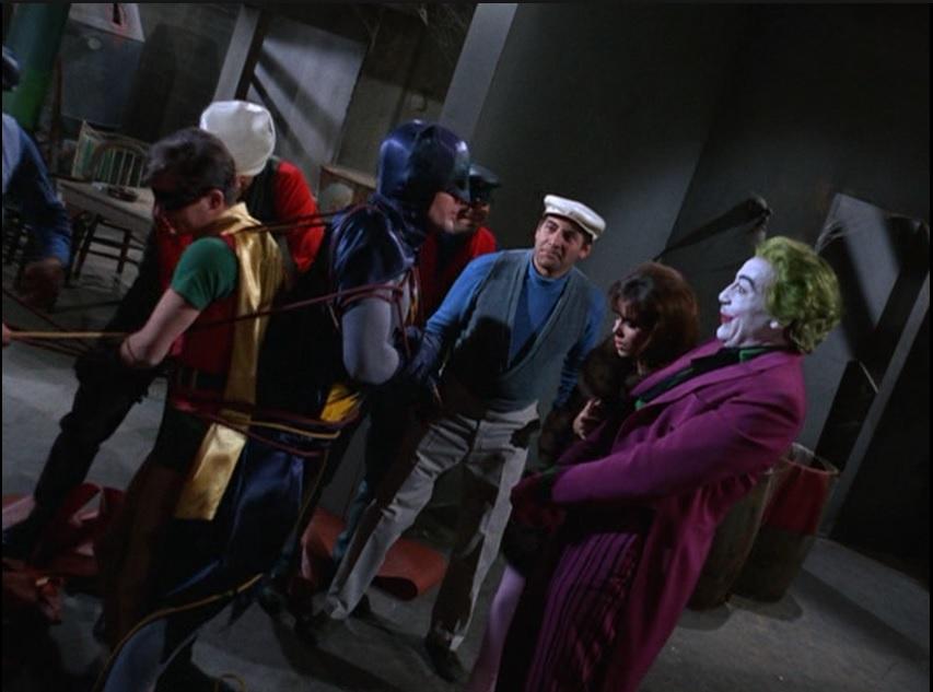 Batman Ring Of Wax Cast