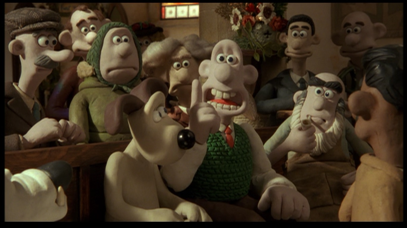 Wallace Gromit The Curse Of The Were Rabbit 2005 Fire Breathing Dimetrodon Time